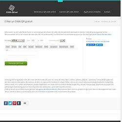 QR Code Generator - Créer un code QR gratuit en ligne