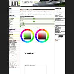 Text Shadow Generator / CSS3 Text Schatten erstellen - Webmaster-Elite.de