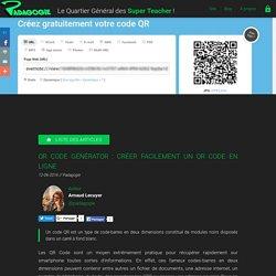 QR Code Générator : créer facilement un QR code en ligne - Padagogie