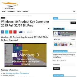 Windows 10 Key Generator Download