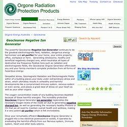 Geoclense Orgone Generator, Buy Geoclense Orgone Generators Online
