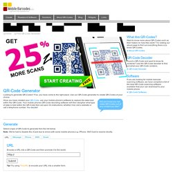 QR-Code Generator Tool - vCards, Websites, Messages, Emails & More