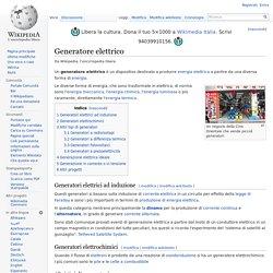 Generatore elettrico