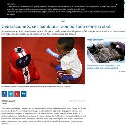 Generazione Z, se i bambini si comportano come i robot