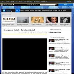 Rai Scuola - Generazione Digitale - Gemellaggi digitali