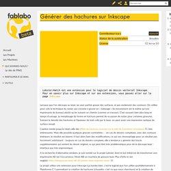 Générer des hachures sur Inkscape — fablabo