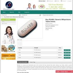 Ru486 Generic Pill Online USA