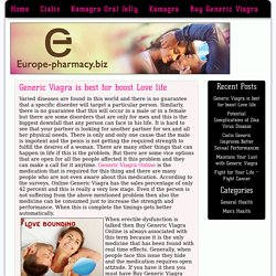 Buy Generic Viagra Online and Lead Healthy and Sexual Life