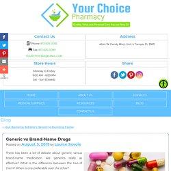 Generic vs Brand-Name Drugs