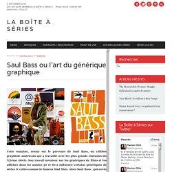 Saul Bass ou l'art du générique graphique
