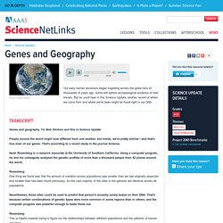 Genes and Geography