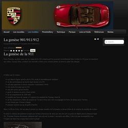 La genèse 901/911/912 - My.Porsche-99x.Info