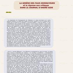 Journal d' André Gide