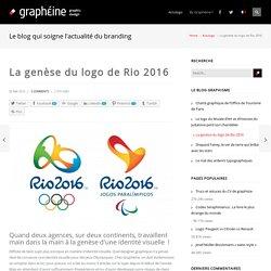 La genèse du logo de Rio 2016 - Graphéine - Agence de communication Paris Lyon