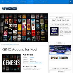 Genesis Addon for XBMC & Kodi