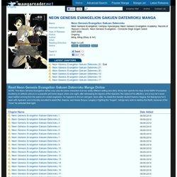 Neon Genesis Evangelion Gakuen Datenroku Manga - Read Neon Genesis Evangelion Gakuen Datenroku Online For Free