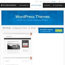 Genesis Framework by StudioPress