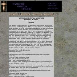 Genesis Outline
