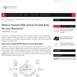 What is Hosted PBX and its Pivotal Role for your Business? - Genesystel - Telecommunication Services Provider