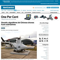 One Per Cent: Genetic algorithms let Chinese drones hunt submarines