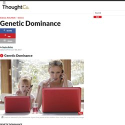 Genetic Dominance