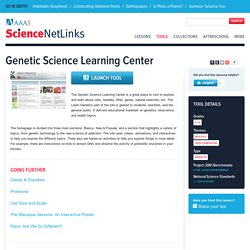 Genetic Science Learning Center