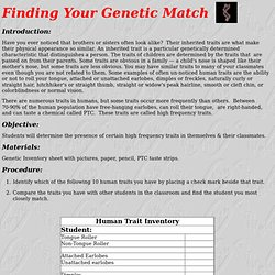 genetic traits activity