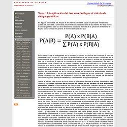 Tema 11.Genética Clínica. Universidad de Navarra