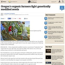 Oregon's organic farmers fight genetically modified seeds