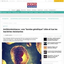 """Une """"bombe génétique"""" tue les bactéries antibiorésistantes"""