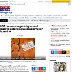 USA: le saumon génétiquement modifié autorisé à la consommation humaine