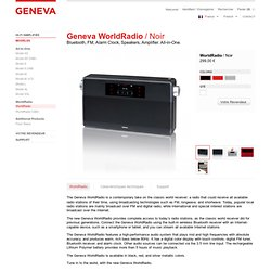Geneva Sound Systems – WorldRadio