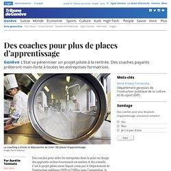 Genève: Des coaches pour plus de places d'apprentissage