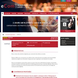 Salon Suisse du web, du mobile, du E-commerce, du webmarketing