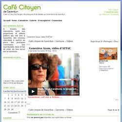 Geneviève Azam, vidéo d'ATTAC