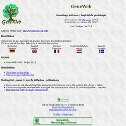 GeneWeb