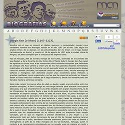 Gengis Kan [o Khan] (1167-1227). » MCNBiografias.com