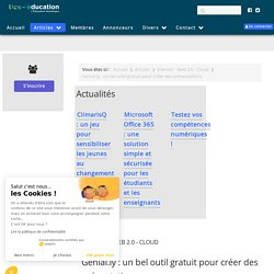 Genial.ly : un bel outil gratuit pour créer des présentations
