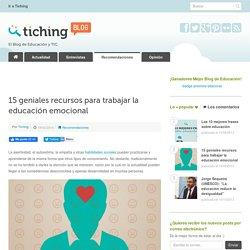 15 geniales recursos para trabajar la educación emocional