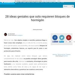 28 ideas geniales que solo requieren bloques de hormigón