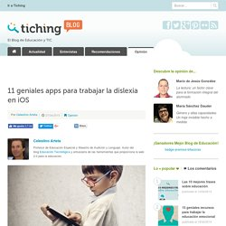 11 geniales apps para trabajar la dislexia en iOS