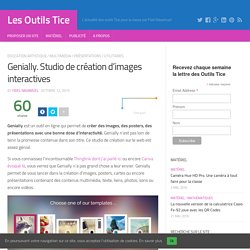 Genially. Studio de création d'images interactives - OutilsTice