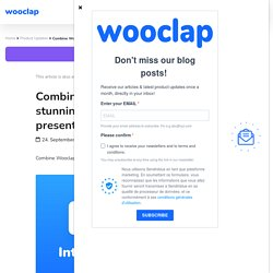 Combine Wooclap and Genially for stunning and engaging presentations