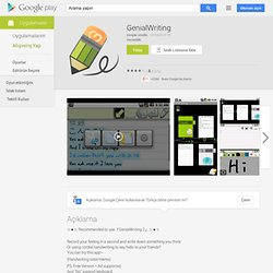 Genial Writing - Android Market