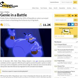 Genie in a Battle