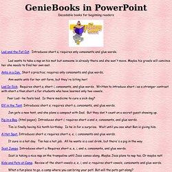 GenieBooks in PowerPoint