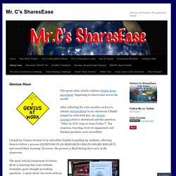 Mr. C's SharesEase