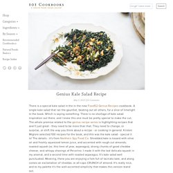 Genius Kale Salad Recipe