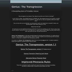 Genius - moochava