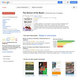 The Genius of the Beast: A Radical Re-Vision of Capitalism - Howard K. Bloom - Google Books